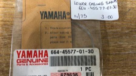 Yamaha Lower Casing Shim 664-45577-01-30