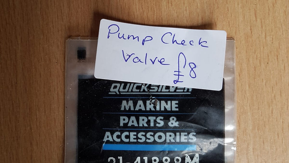Quicksilver Pump Check Valve 21-41888M