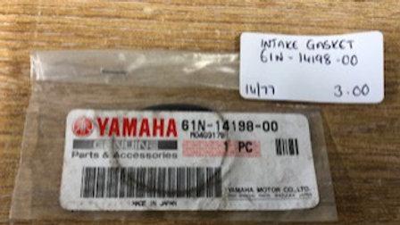 Yamaha Intake Gasket 61N-14198-00