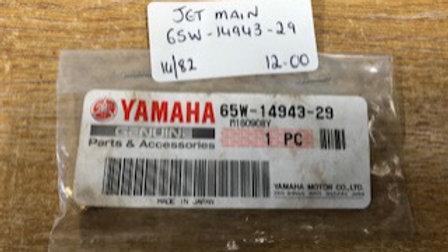Yamaha Jet Main 65W-14943-29