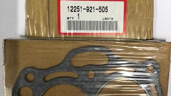 Honda Gasket 12251-921-505