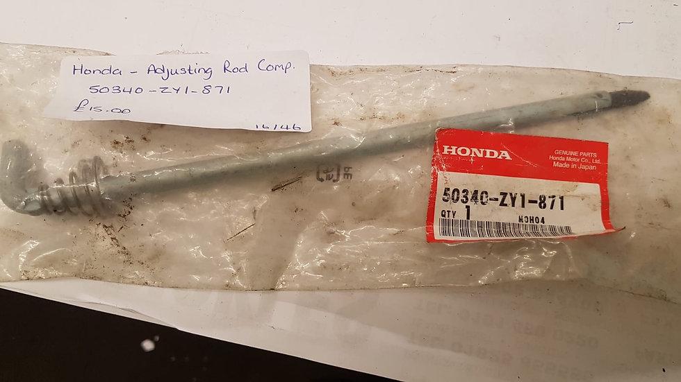 Honda Adjusting Rod Comp 50340-ZY1-871