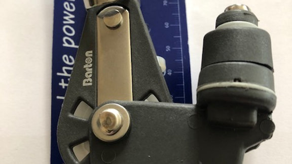 Single - Swivel + becket + cam size 2