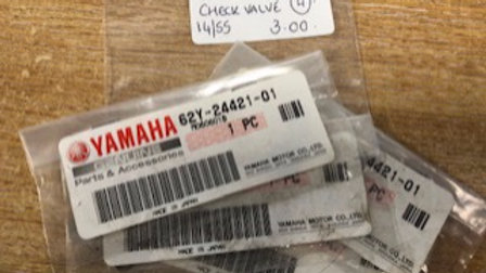Yamaha Check Valve 62Y-24421-01