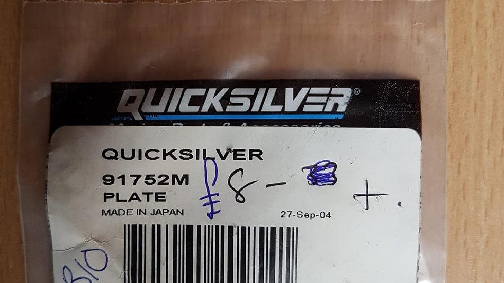 Quicksilver Plate 91752M