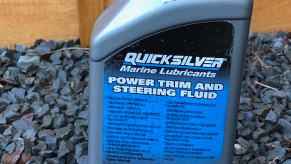 Quicksilver Power Trim & Steering Fluid 1ltr