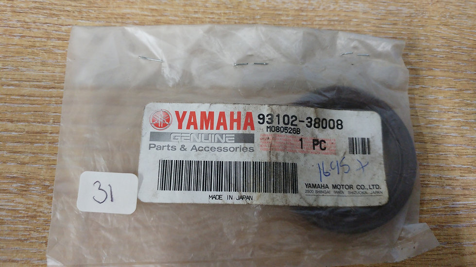 Yamaha Oil Seal 93102-38008