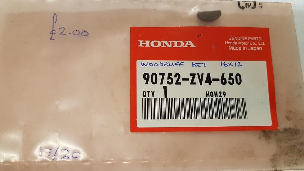 Honda Woodruff Key 90752-ZV4-650