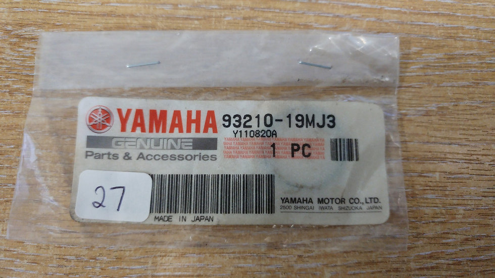 Yamaha O-Ring 93210-19MJ3