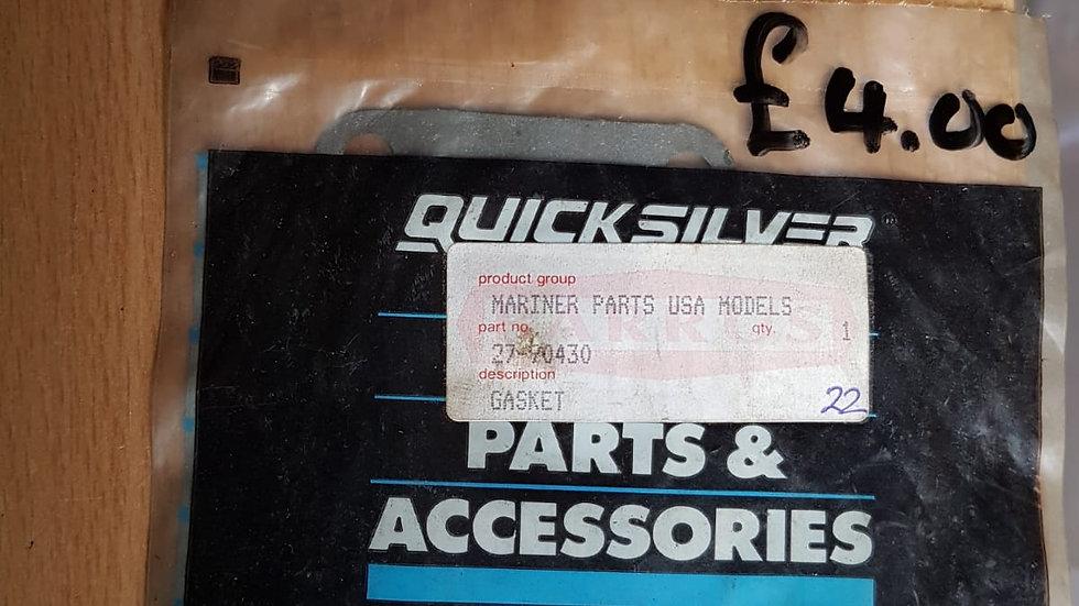 Quicksilver Gasket 27-90430
