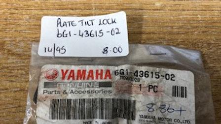 Yamaha Plate Tilt Lock 6G1-43615-02