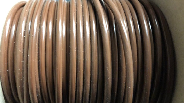 4.5mm Brown Thin Wall Cable
