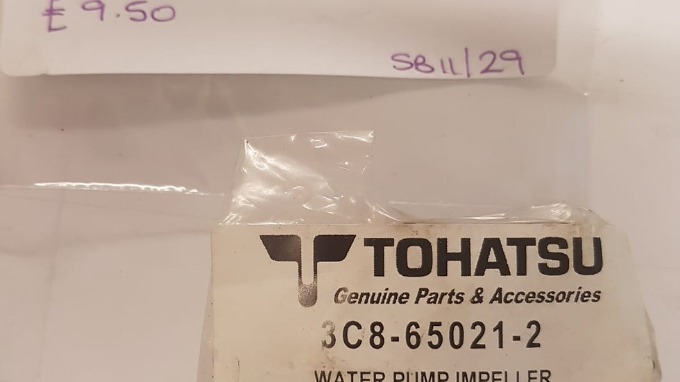 Tohatsu Water Pump Impeller 3C8-65021-2