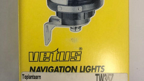 Vetus Masthead Light TW35Z