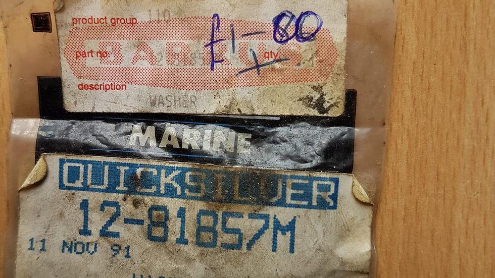 Quicksilver Washer 12-81857M