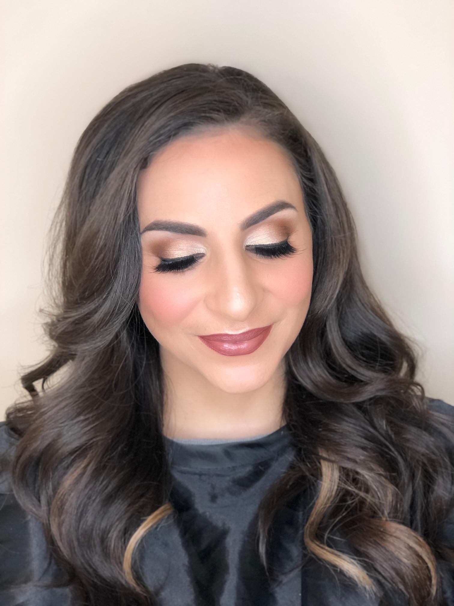 Makeup & Simple Hair
