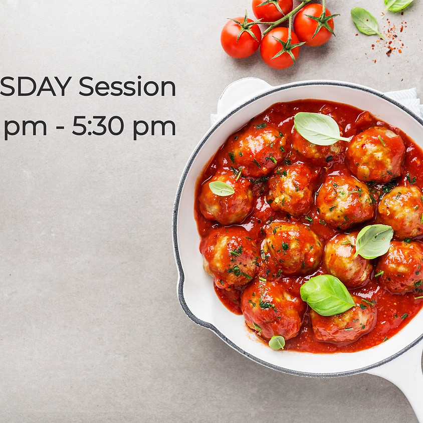 TUESDAY Cooking Series ~ 4:00 PM