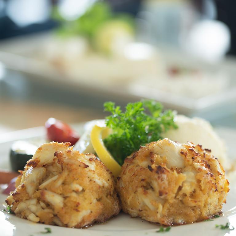 Virtual Summer Supper: Crabcake Dinner