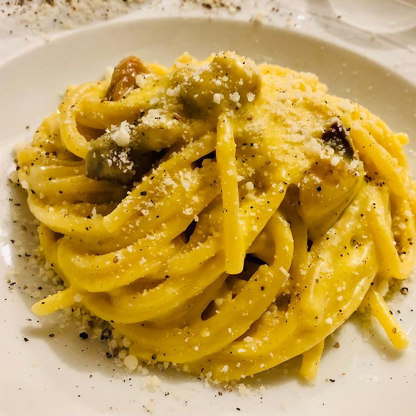 Virtual 30-Minute Meal: Spaghetti alla Carbonara ~ 6:15 PM