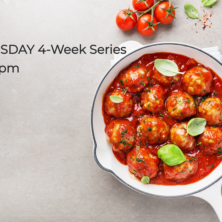 Virtual WEDNESDAY After School Cooking Series ~ 4:30 PM
