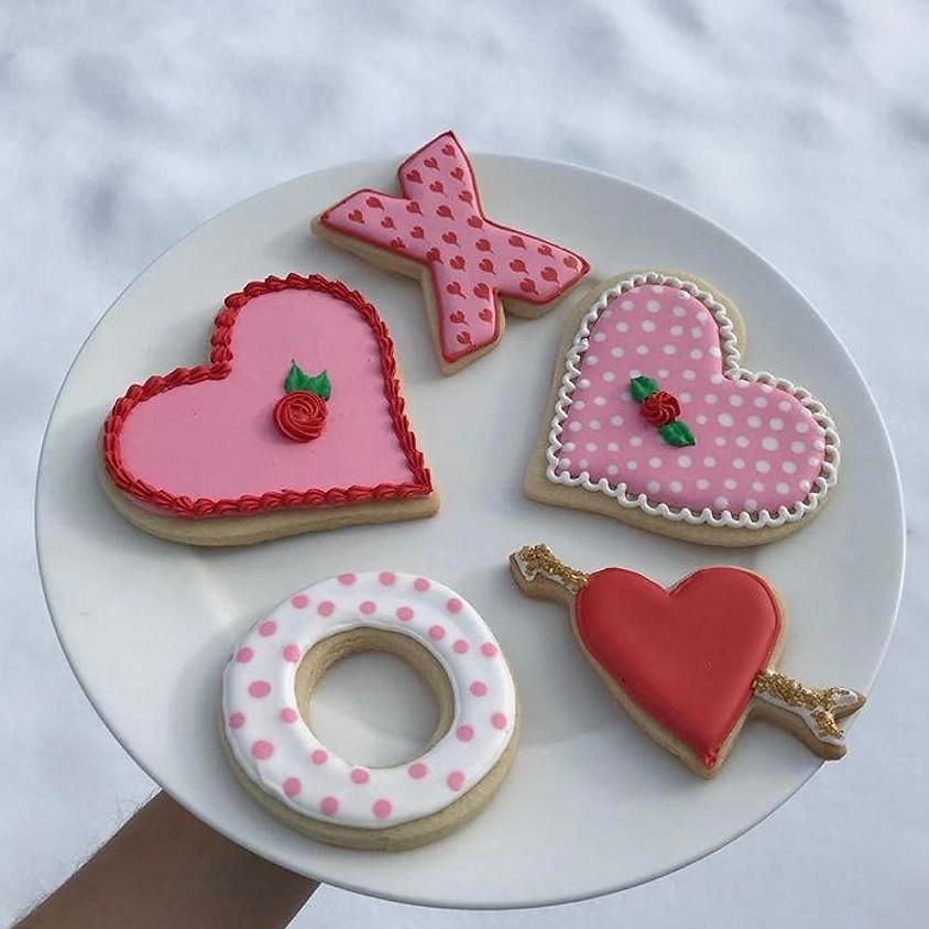 Valentine's Day Cookie Design Workshop ~ 2 pm