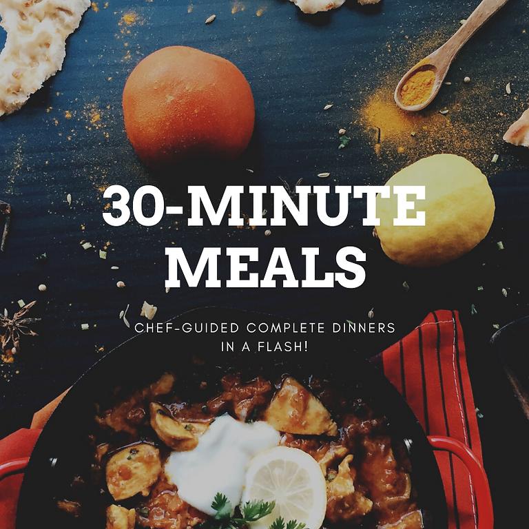 Virtual 30-Minute Meal: Shrimp & Grits, Italian Style! ~ 6 PM