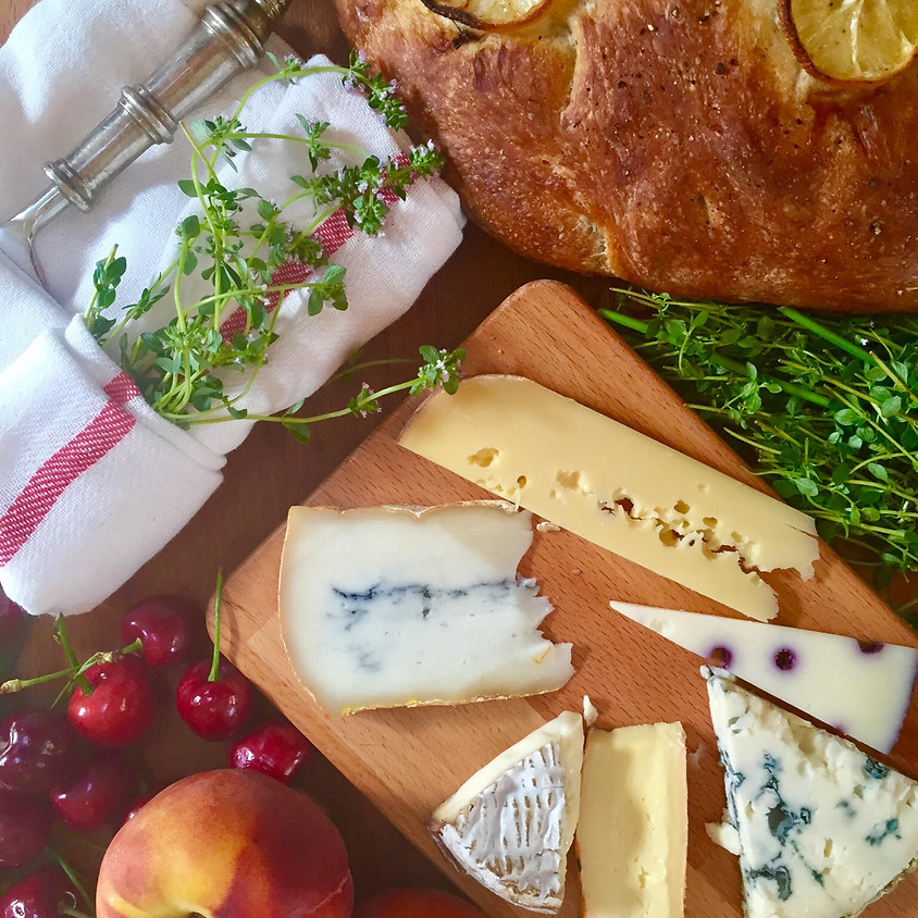Cheese 101 - Intensive Tasting ~ 7 PM