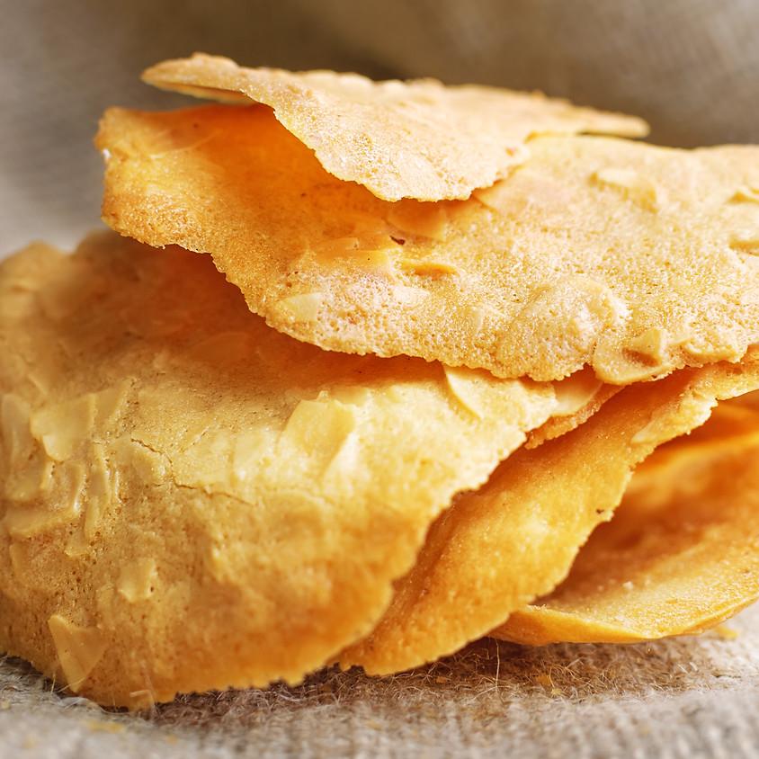 Kids & Teens: Tuile Cookies - 10 am