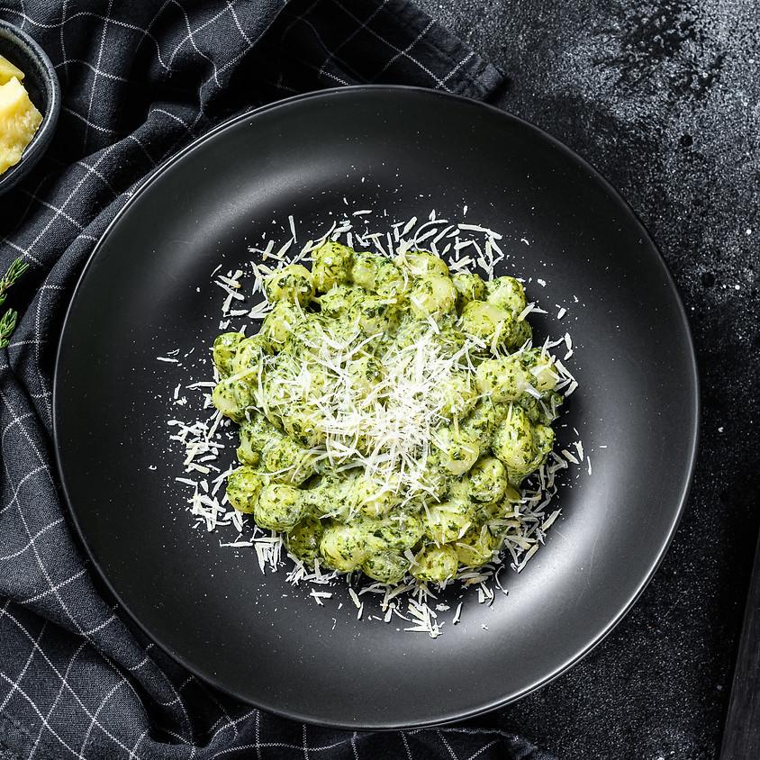 Virtual Gnocchi al Pesto ~ 6 PM