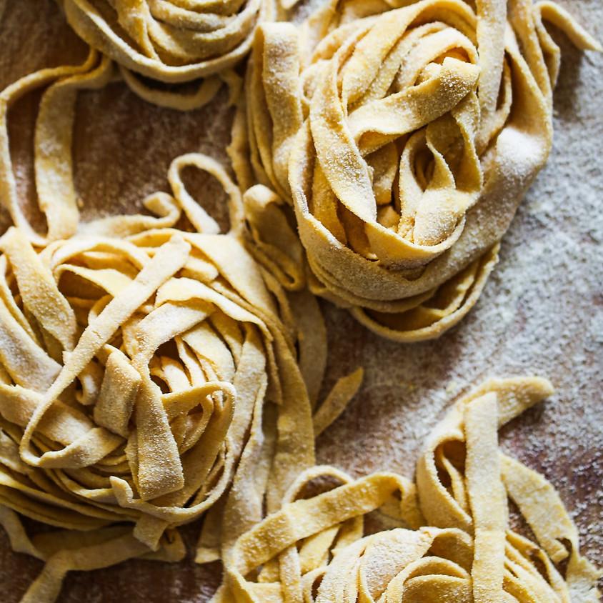 Virtual Kids & Teens: Homemade Pasta ~ 4:30 pm