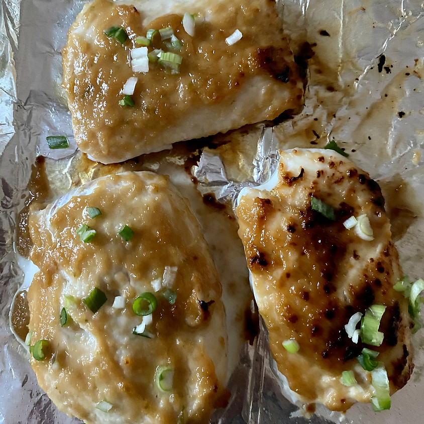 Virtual 30-Minute Meal: Miso Glazed Cod ~ 6:30 PM