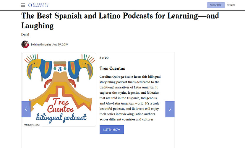 The Best Spanish and Latin oPodcast for