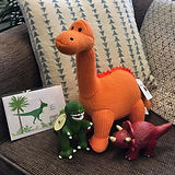 Dinosaur enthusiasts catered for. Lovely