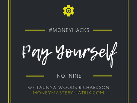 #MoneyHack No.9 | Pay Yourself