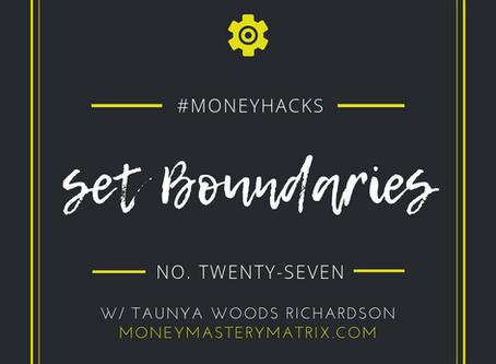 #MatrixHack No. 27 | Set Boundaries