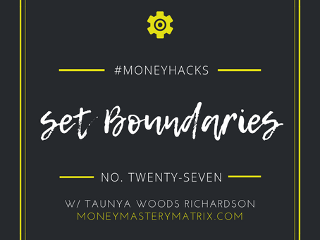 #MatrixHack No. 27 | Set Boundaries