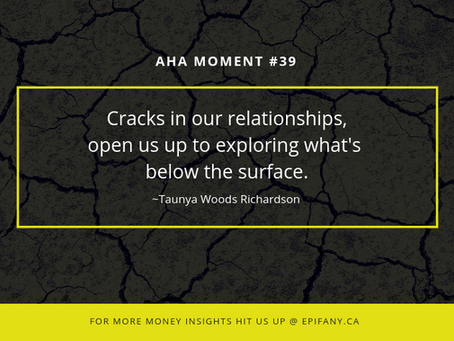 Aha Moment #39: Cracks Reveal What's at the Core