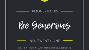 #MoneyHack No. 21 | Be Generous