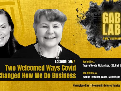 Episode 20 // Two Welcomed Ways Covid Changed How We Do Business