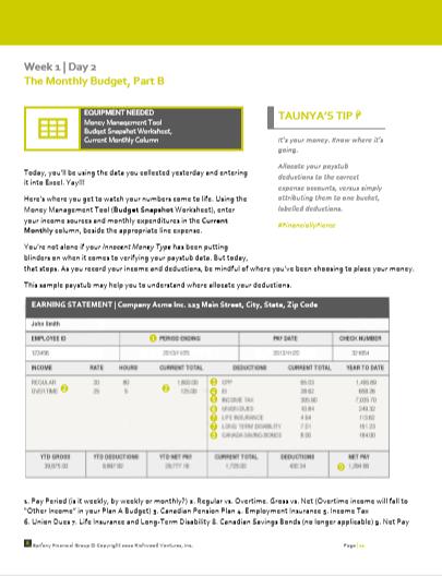 Workbook | Detailed instructions