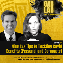 Episode 7 //  Nine Tax Tips to Tackling Covid Benefits [Personal and Corporate]