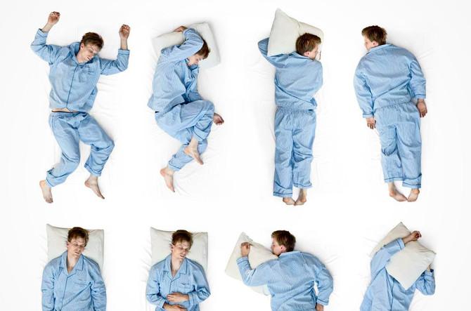 Qual a postura certa na hora de dormir?