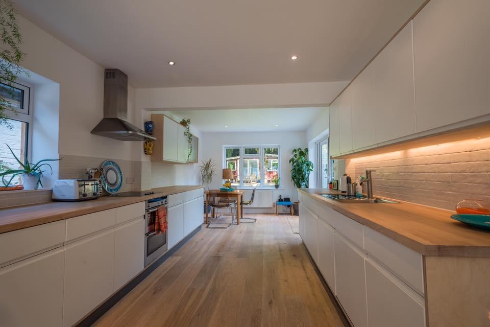Bungalow Conversion Kitchen Interior