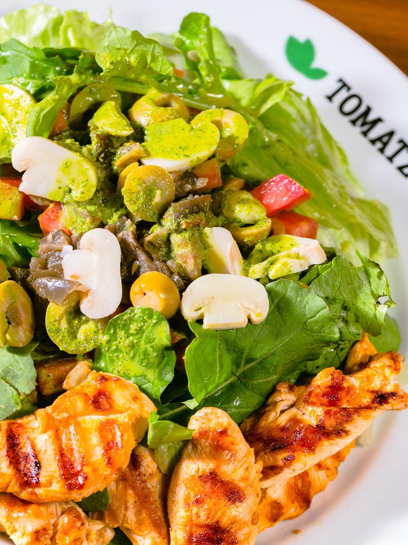 Salada da casa  - Tomatzo