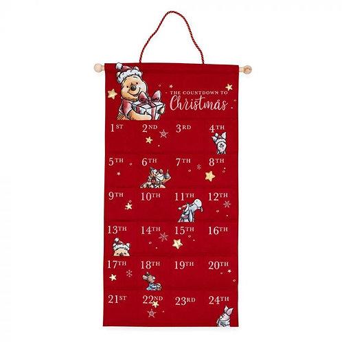 Winnie the Pooh Christmas: Fabric Advent Calendar