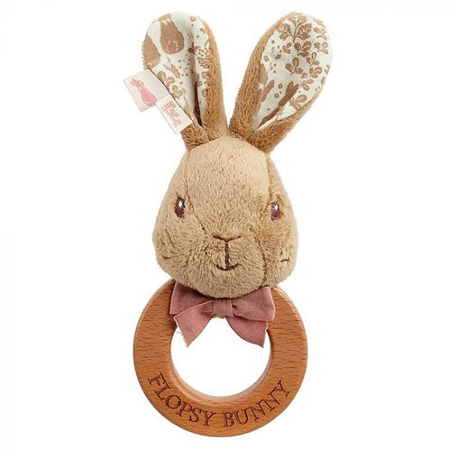 Signature: Wooden Ring Rattle Flopsy