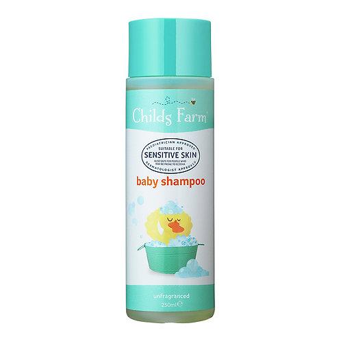 Childs Farm baby shampoo unfragranced