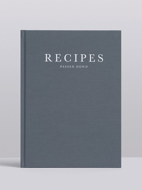 Recipes Passed Down. Stone
