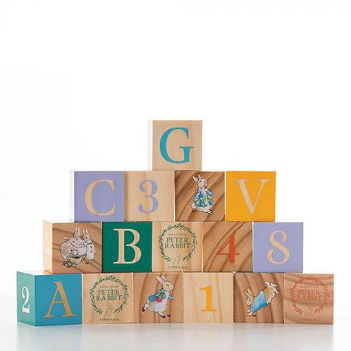 Blocks: Peter Rabbit Wooden Learning