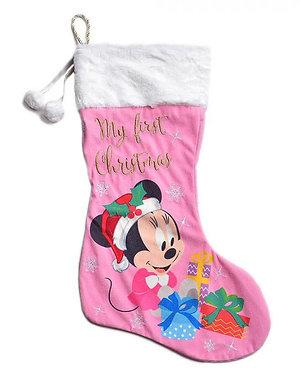 Minnie Christmas: My First Christmas Stocking